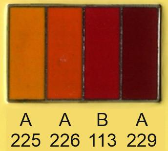 Emalje farver a225-a226-b113-a229