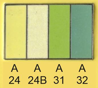 Emalje farver a24-a24b-a31-a32