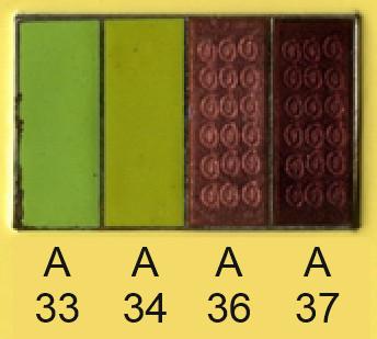 Emalje farver a33-a34-a36-a37