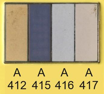 Emalje farver a412-a415-a416-a417