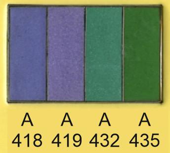 Emalje farver a418-a419-a432-a435