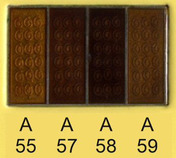 Emalje farver a55-a57-a58-a59
