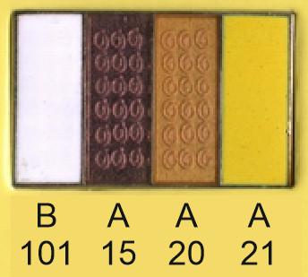 Emalje farver b101-a15-a20-a21