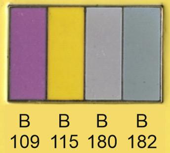 Emalje farver b109-b115-b180-b182