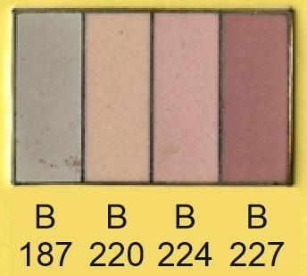 Emalje farver b187-b220-b224-b227
