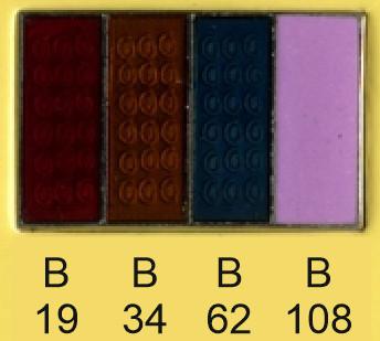 Emalje farver b19-b34-b62-b108