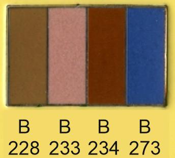 Emalje farver b228-b233-b234-b273