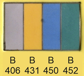 Emalje farver b406-b431-b450-b452