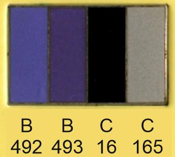 Emalje farver b492-b493-c16-c165