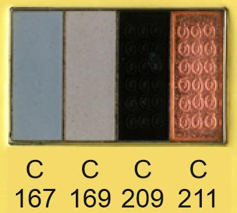 Emalje farver c167-c169-c209-c211