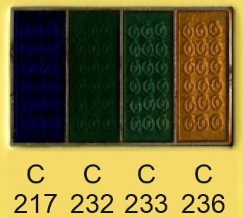 Emalje farver c217-c232-c233-c236