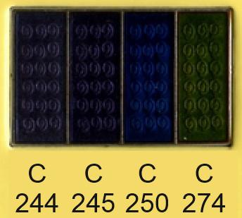 Emalje farver c244-c245-c250-c274