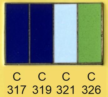 Emalje farver c317-c319-c321-c326