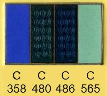 Emalje farver c358-c480-c486-c565