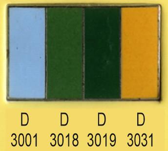 Emalje farver d3001-d3018-d3019-d3031
