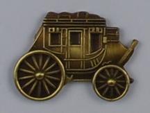 Antik bronze/snyde guld